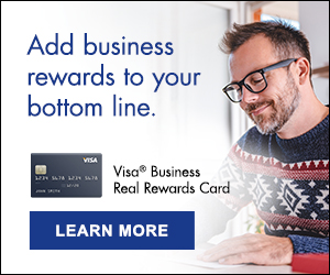Winter business credit card ad image 2021