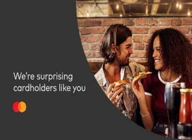 Mastercard Priceless Surprises Campaign with link to rules and regulations.